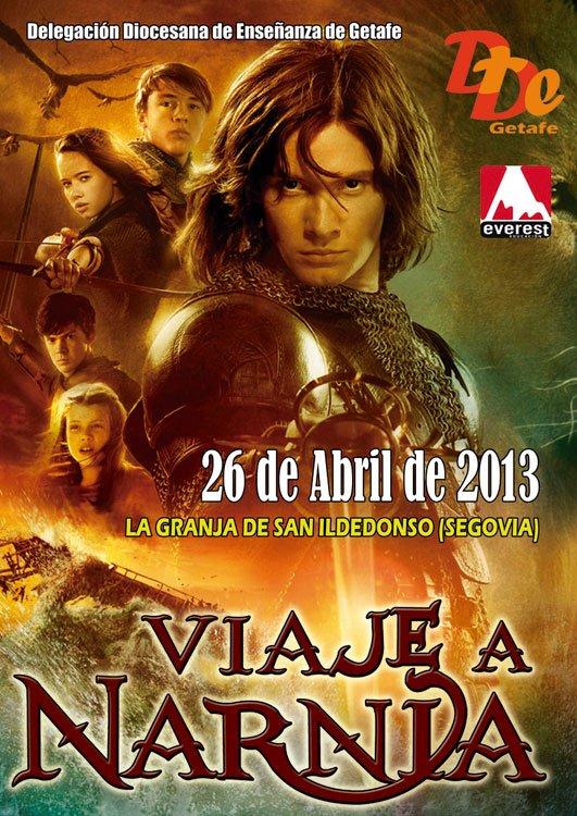 Cartel Viaje a Narnia 2013