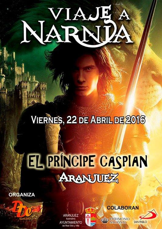 Cartel Viaje a Narnia 2016