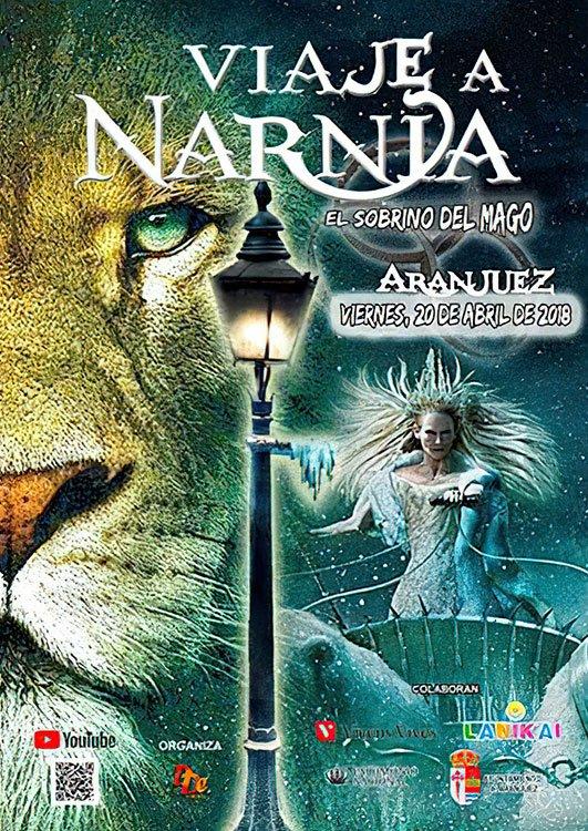 Cartel Viaje a Narnia 2018