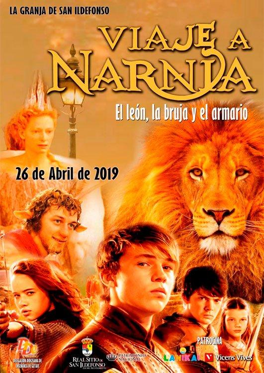 Cartel Viaje a Narnia 2019